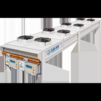 LU-VE XAL szárazhűtő